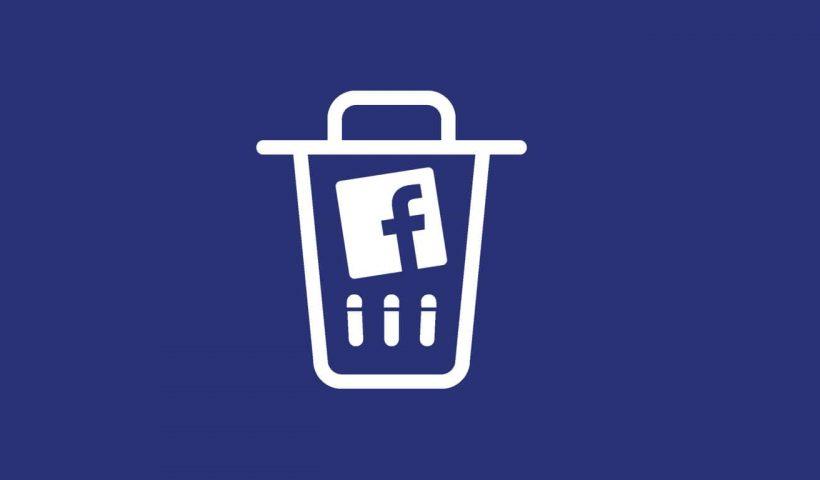Delete Facebook page