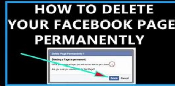 How To Delete Your Facebook Page Permanently