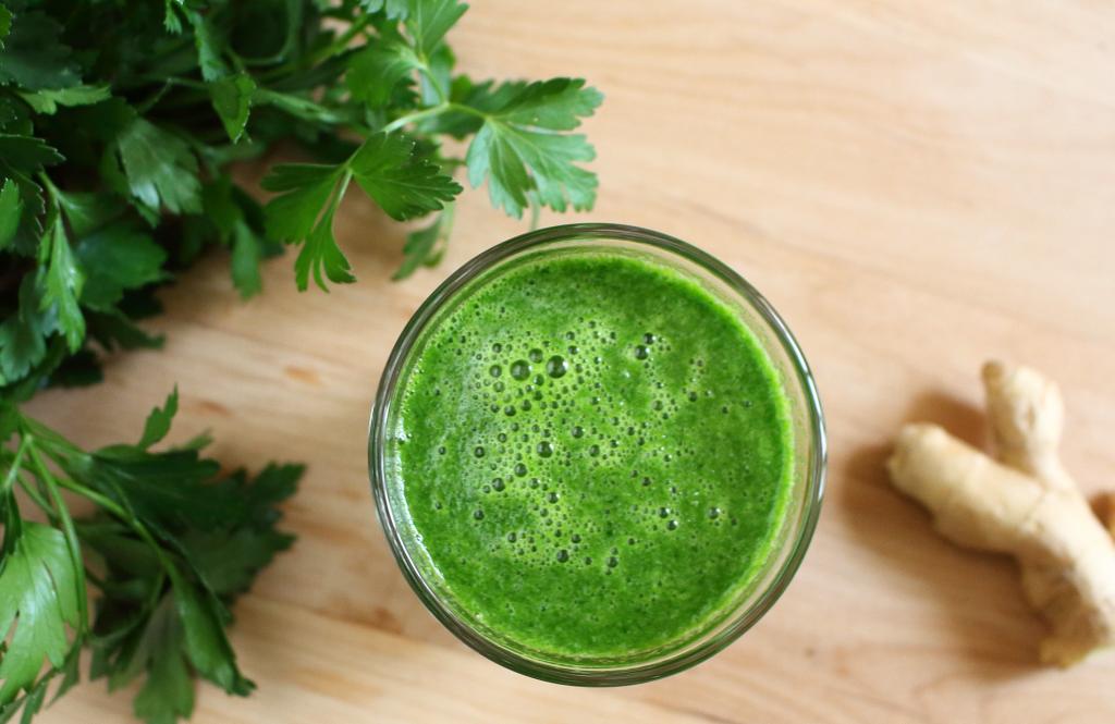 Juice of parsley