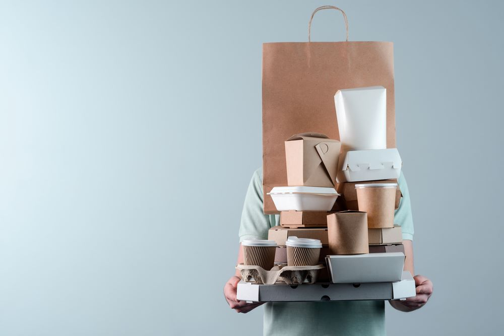 food boxes take-out containers