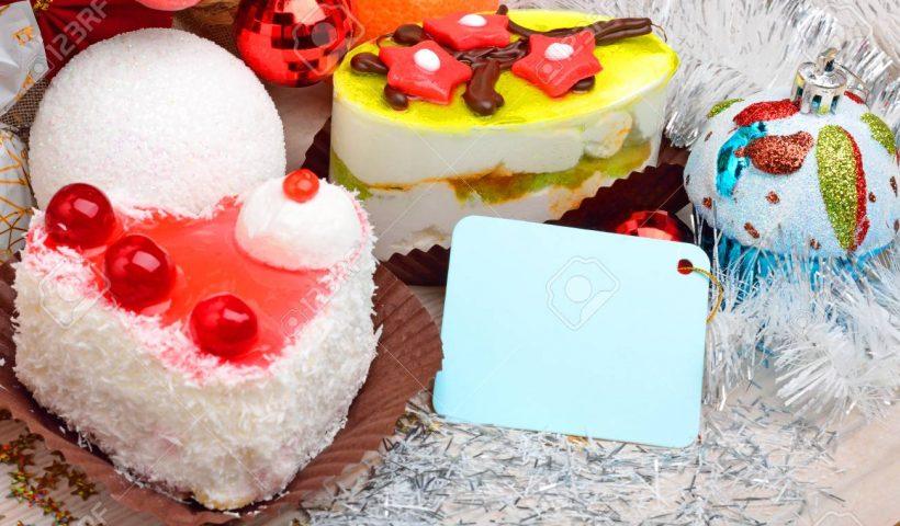 Cakes on Christmas