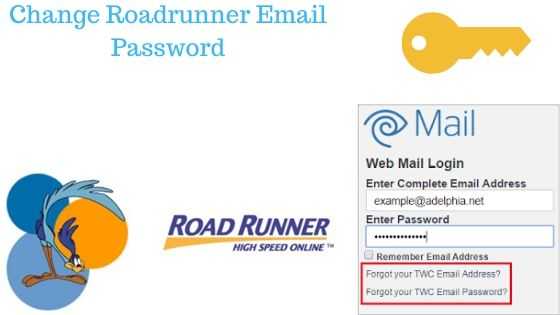 Change Roadrunner Email Password