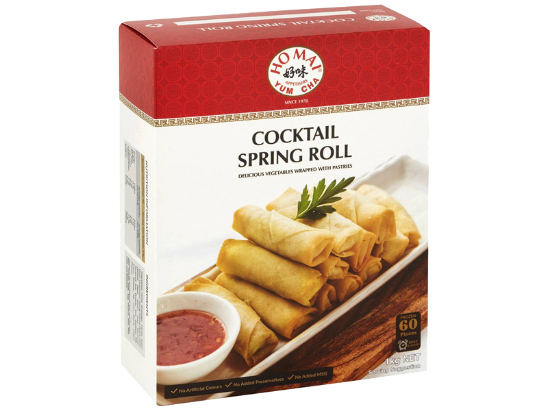 cocktail spring roll