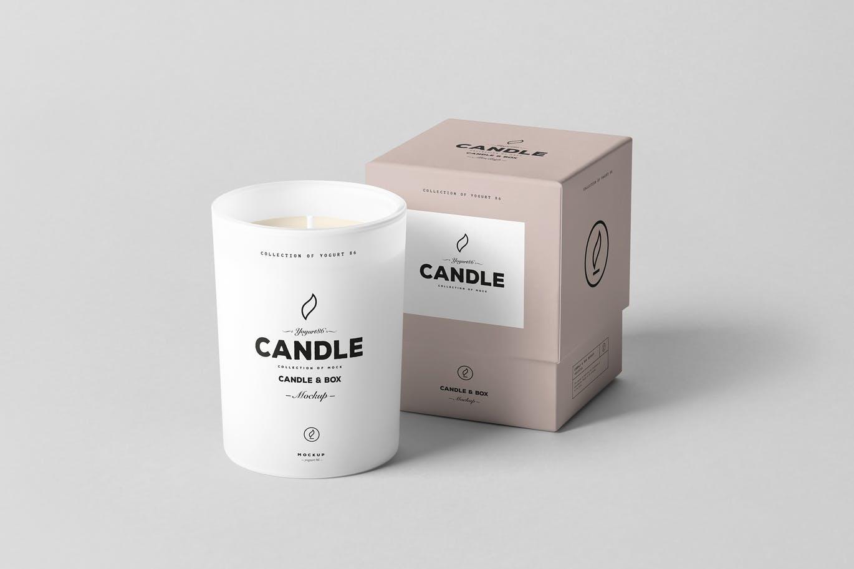 Candle Boxes mockup