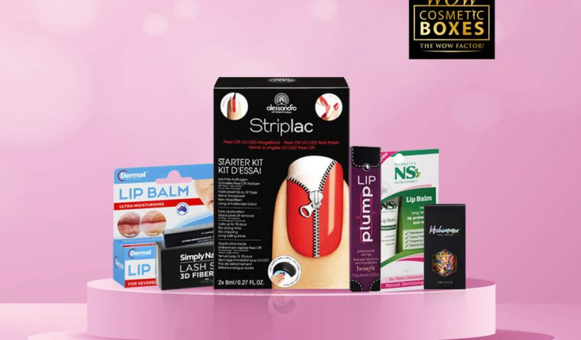 Cosmetic and Lip Balm Boxes