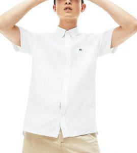 White Linen Shirt By Tata CLiQ Luxury